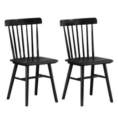 [랜선할인]유럽형 고무나무801 식탁 의자 2개 FN702-6