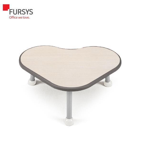 퍼시스 어린이 가구 하트형 좌식 테이블 책상 UHR007U