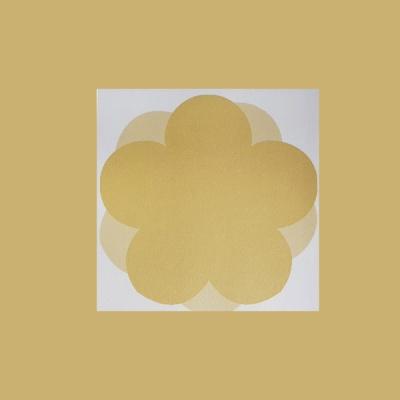 심플 노랑 오얏꽃 떡메모지 시리즈