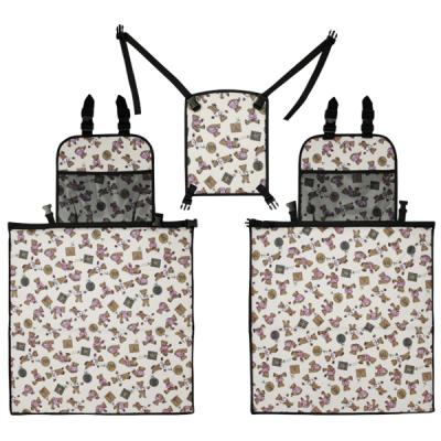 곰돌이 차량용 놀이방매트 3단풀세트/차박매트
