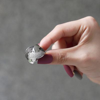 바이데이지 SR028 투톤 큐빅 포인트 반지