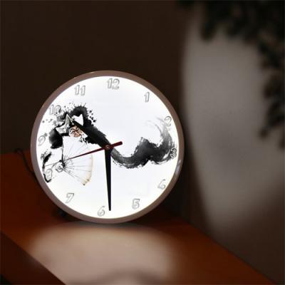 nf291-LED시계액자25R_우리전통문화탈춤
