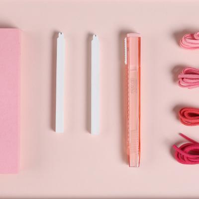 아날로그 슬라이딩 지우개 핑크에디션