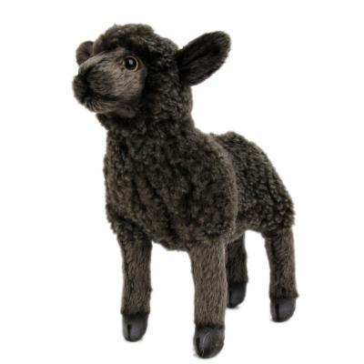 4561 어린양 동물인형(Black)/17cm.L