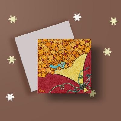 [카드] 기쁜 소식2 캘리그라피 카드