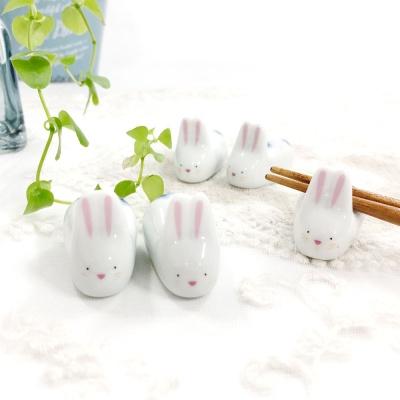 수줍은 토끼 젓가락 받침 5p set
