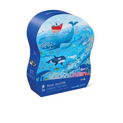 Under the Sea 36pcs Puzzle 바다 물고기 유아 퍼즐