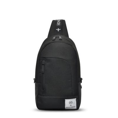 [비아모노] SPACE SLING BAG (BLACK)