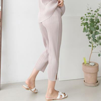 Pleats Easy Leggings Pants