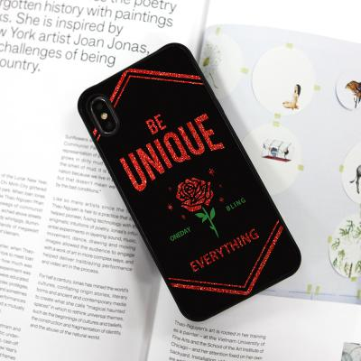 UNIQUE RED BLING COVER+바디세트