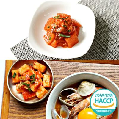 [HACCP] 한옹 꼴깍 400g + 깍두기김치 1kg