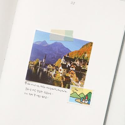 마스킹테이프 : stamp - 12 Landscape