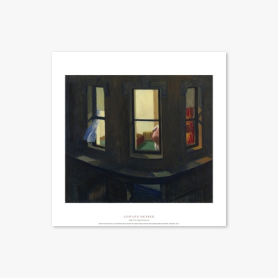 현대작가 포스터 갤러리 액자 036 Edward Hopper Night Windows