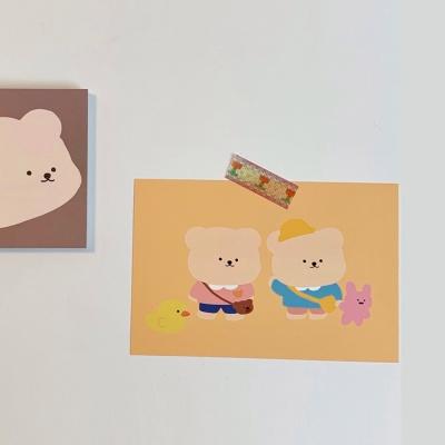 [밤토리상점]유치원 엽서