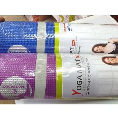 아이워너 PVC 요가매트 6mm 필라테스