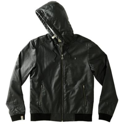[Altamont] NOVEL 2 PLEATHER JACKET (Black)