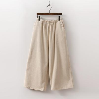Wang Corduroy Wide Pants