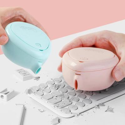물방울모양 원터치 책상 데스크 핸디 청소기