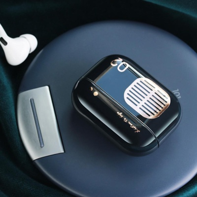 에어팟프로 3세대 레트로 라디오 하드케이스/무선충전