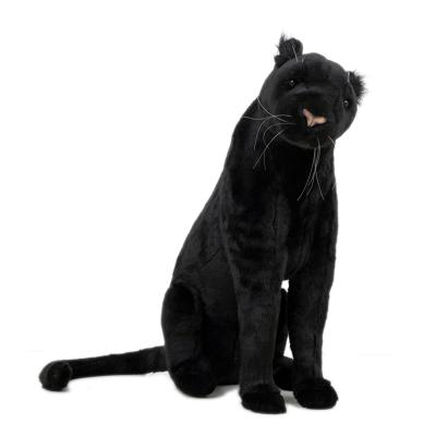 5638번 흑표범 Leopard - Black Panther Sitting/62cm.H