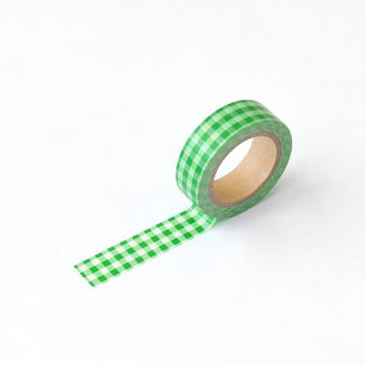 왈가닥스 체크 마스킹테이프 - 193 Check Green
