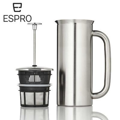 P7 에스프로 커피프레스 18oz - Brushed(무광)