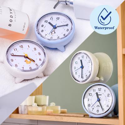 오리엔트 무소음 탁상겸용 흡착식 방수시계(욕실시계)