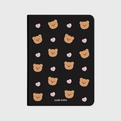 Dot love and bear-black(아이패드-커버)