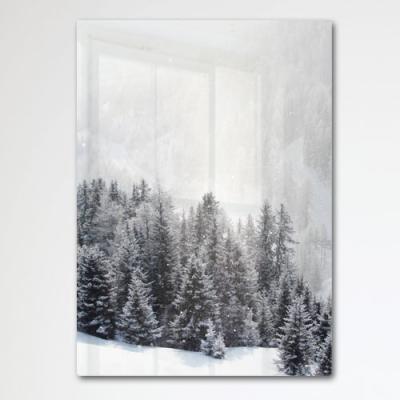 da150-폼아크릴액자56CmX78Cm_겨울날의소나무