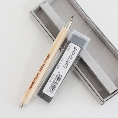 KOH-I-NOOR _sharp pencil set_wood