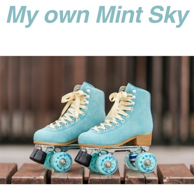 COLOROLL 롤러스케이트 My own Mint sky