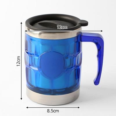 450ml 바운스 스텐 보온컵