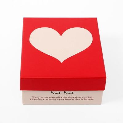 마음을 담는 하트 선물상자 18x15x7cm 기프트박스