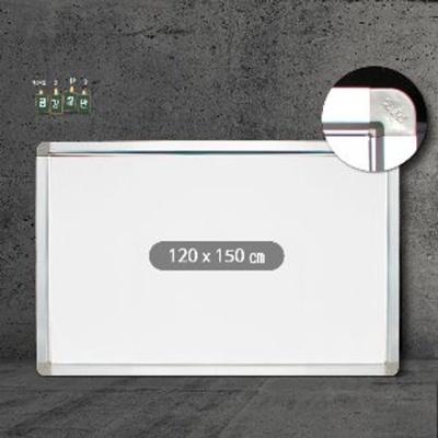 금강 일반 화이트보드120x150 알루미늄몰딩