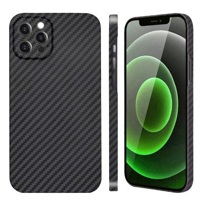 아이폰 12 Pro Max 페버 카메라 보호 풀 케블라 카본