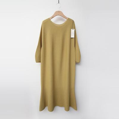 Maille Wool Flare Long Dress - 9부