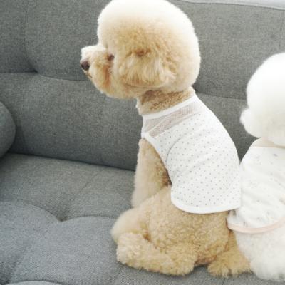 유아러피치 땡땡이 홈웨어 _강아지옷 애견의류