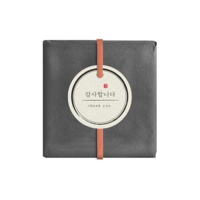 한지 감사 원형 [텍] (10개)