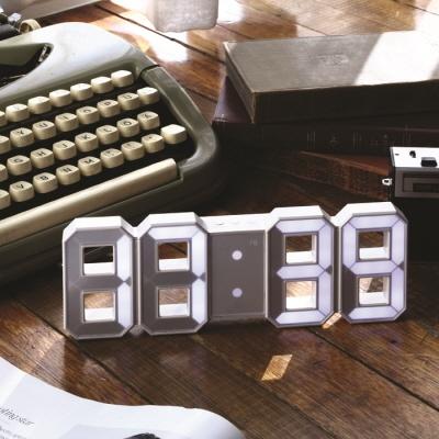 플라이토 레인보우 미니 LED 탁상벽시계