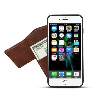 아이폰 가죽 카드지갑 마그네틱 홀더 무선충전 케이스