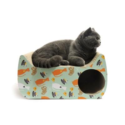 [봉봉펫닷컴] 고양이 스크래쳐 미니 하우스