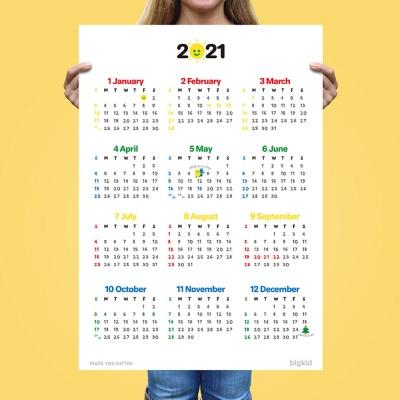 [1+1] 빅키드 대왕 365 날짜 공부 달력 2021년 캘린더