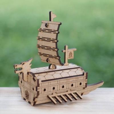 3D입체퍼즐 나무퍼즐 거북선 만들기 수업 놀이키트 장난감 집콕놀이 취미