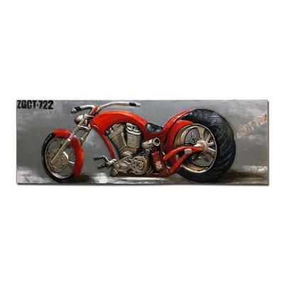 홈스타일링 오토바이 유화액자CH1485749