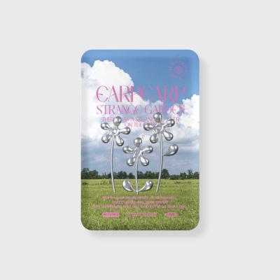 STEEL FLOWER-PINK(보조배터리-무선충전)