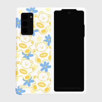 FLOWER BABA-YELLOW/BLUE(Z폴드2-하드)