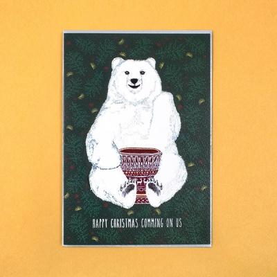 북치는하얀곰