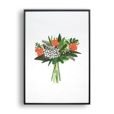 누군가의 꽃 / 일러스트 액자