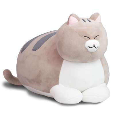 식빵뚱냥 고양이 인형 - 고등어태비