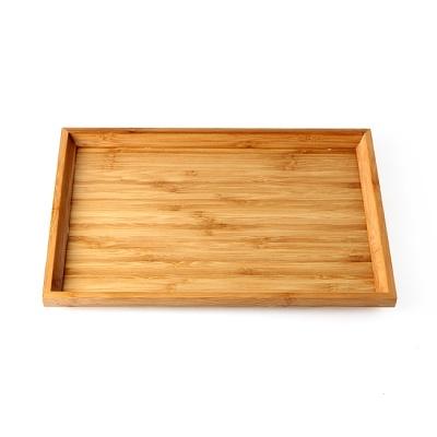 대나무 사각 쟁반(소) (28x19cm)